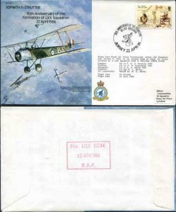 B5a 70th Anniv of the Formation of LXX Squadron Standard Cover (A)