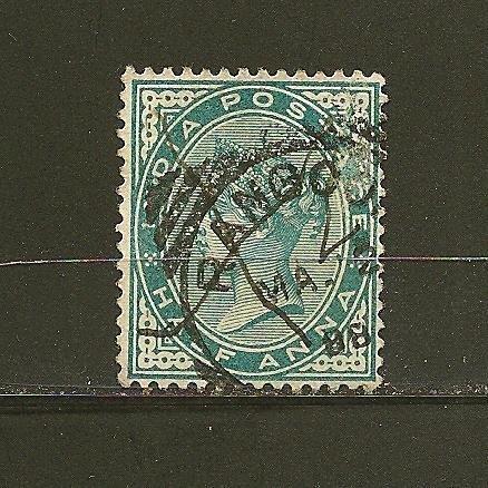 India 36 Queen Victoria Used