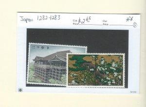 Japan 1282-1283  MNH