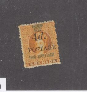 GRENADA # 32 SURCHARGE 2sh MH CAT VALUE $50