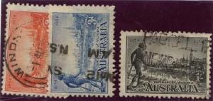Australia - 1934 Centenary of Victoria Set Used #142-4
