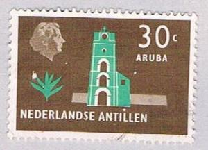 Netherlands Antilles 250 Used Fort Willem 1958 (BP32516)
