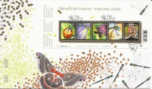 2007 Canada FDC Sc 2238a - Beneficial Insects 2007 - Low Values