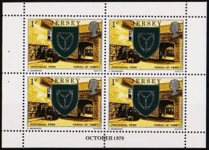 Jersey. 1979 1p(Booklet Pane) S.G.138 Unmounted Mint
