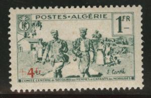 ALGERIA Scott B34 MH* 1940 semi-postal stamp