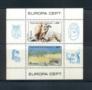 Turkey - Cyprus #181 1986 Europa sheet VFMNH CV $16.00
