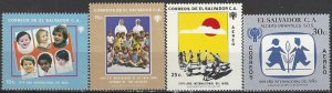 El Salvador  916-7, C463-4  MNH  Year of the Child 1979
