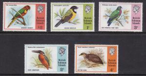British Solomon Isl, Fauna, Birds MNH / 1975