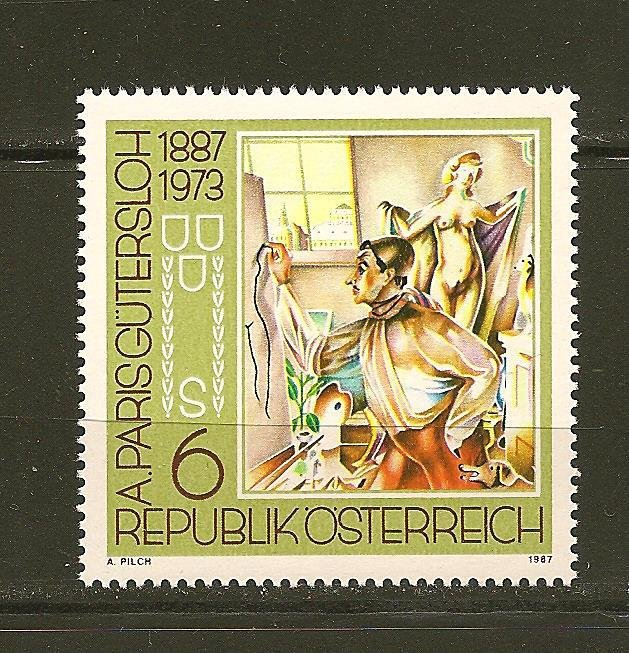 Austria Art 1887-1973 / 1987 Issue MNH