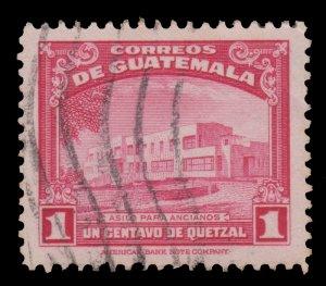 GUATEMALA STAMP 1942 SCOTT # 305. USED. # 3