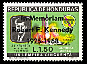 Honduras Michel 730, MNH, Robert F. Kennedy In Memoriam