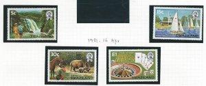 Swaziland  mnh sc. 378 - 381