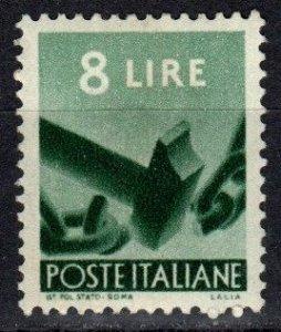 Italy #486  F-VF Unused CV $4.00  (X3340)