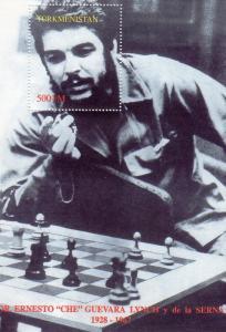 Ernesto Che  Guevara SS perf.mnh Turkmenistan Yvert Bl.# 7