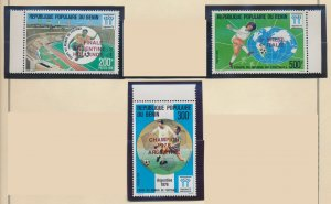 Benin Stamps Scott #400 To 402, Mint Never Hinged - Free U.S. Shipping, Free ...