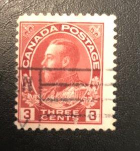 Canada # 130 Used