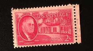 FDR #931, circulated single VF, NH, Vic's Stamp Stash
