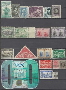 COLLECTION LOT # 2901 SPAIN 19 ALL CONDITIONS STAMPS + 1 SS 1916+ CV+$20