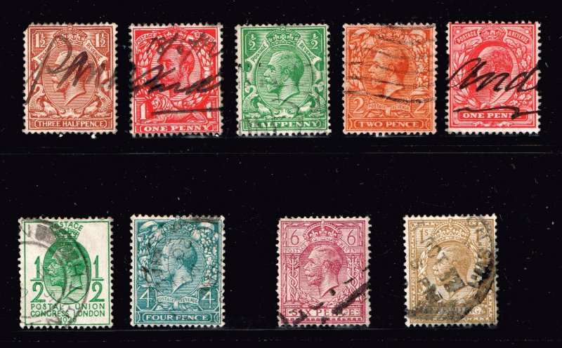 UK STAMP GREAT BRITAIN STAMPS COLLECTION LOT  #2
