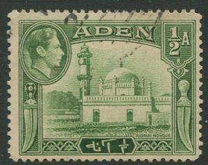 STAMP STATION PERTH Aden #16 KGVI Definitive Issue 1938 Used CV$0.50.