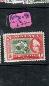 MALAYA  TRENGGANU    (P1606B)  SG98          MNH