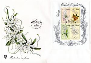 Venda - 1981 Orchids MS FDC SG MS50
