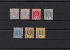 leeward islands  mounted mint stamps ref r10246