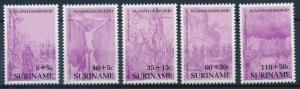 [SU 531] Suriname 1987 Easter Paintings - Jesus Christ by Rembrandt  MNH