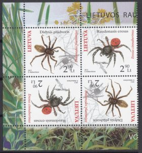 2012 Lithuania 1100-1101Tetbesh Insects 9,00 €