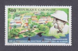 1988 Gabon 1015 Nobel Laureates / Albert Schweitzer 6,50 €