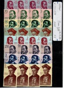 Spain 1131-1138 Set Mint Never Hinged