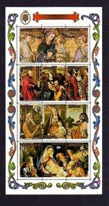 AITUTAKI - 1975 - CHRISTMAS - MADONNA & CHILD - KINGS - SHEPHERDS - MINT SHEET!