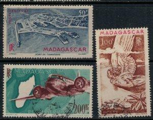 Madagascar #C51-3  CV $3.40