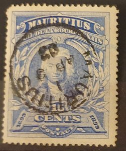 Mauritius Postage Stamp 1899 F/Used Condition SG136