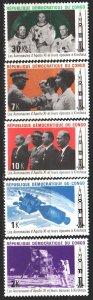 Kinshasa. 1970. 395-99. Space. MNH.