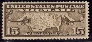 US Stamp #C8 MINT Hinged SCV $2.50