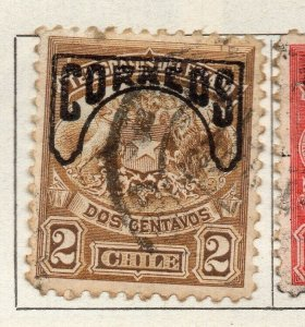 Chile 1904 Early Issue Fine Used 2c. Optd NW-11417