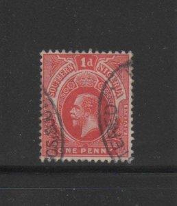 SOUTHERN NIGERIA #46  1912  1p  KING GEORGE V   F-VF USED