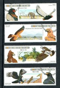2009   NAMIBIA  -  SG: 1118/21  -  EAGLES OF NAMIBIA  -  USED