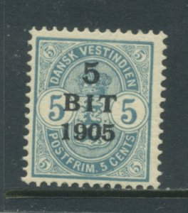 Danish West Indies 41  MVLH