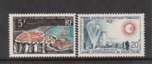 French Southern & Antarctic Territory #23 - #24 VF Mint