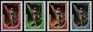 Russia Scott 2032-2035 (1957-58) Mint LH/NH VF Complete Set W