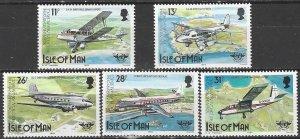 Isle of Man  262-6  MNH  ICAO