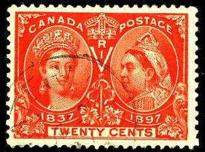 Canada #59 USED TINY TEAR