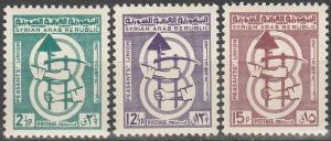 Syria #474-6 MNH F-VF  (SU6961)