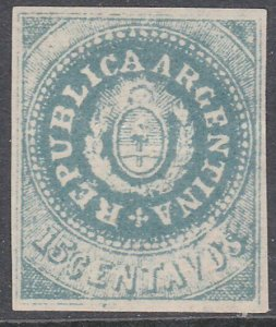 ARGENTINA  An old forgery of a classic stamp................................C990