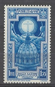 COLLECTION LOT # 4981 ITALY #313 MH 1933 CV+$12