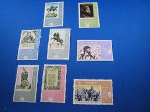 ALBANIA 1968 - SCOTT #  1110-1117   MNH