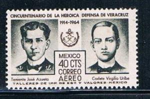 Mexico C284 MNH Lt Jose Azueta (M0174)+
