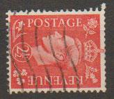 GB George VI  SG 507a wmk sideways Used